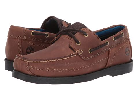 leather boat shoes timberland piper cove leather boat shoe at zappos