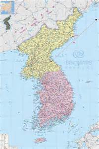 political map of korea large detailed political map of korea korea large detailed political map vidiani