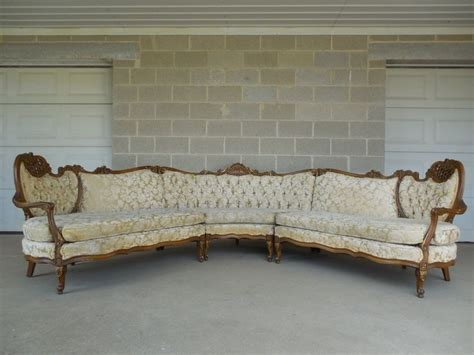 provincial couch french provincial tufted sofa 18th c french provincial