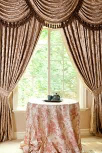 Swag Valance Curtains Picture Of Baroque Floral Classic Overlapping Swag Valance Curtains