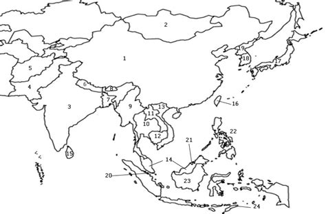 asia map test countries of asia map quiz by thefattyawm