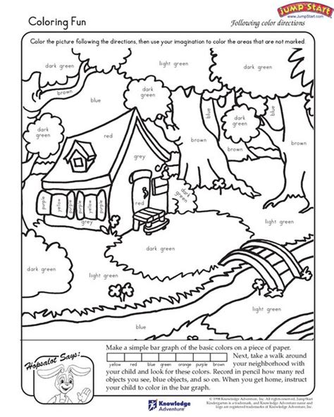 Coloring Work Sheets by Quot Coloring Quot Kindergarten Coloring Worksheets For