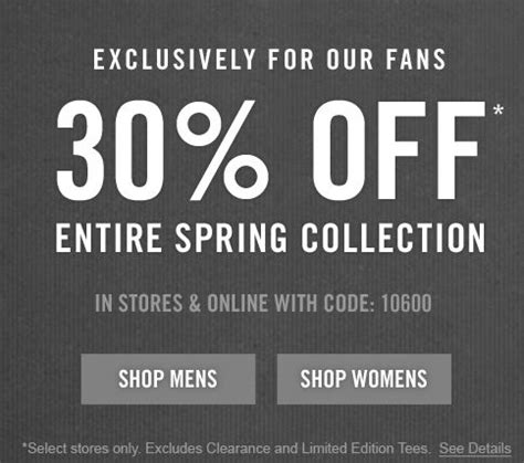 abercrombie fitch coupons 30 off w promo code for abercrombie and fitch canada sale 30 off entire spring