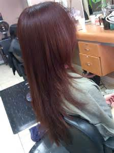 v shape haircut v shaped haircut on extremely thick coarse and long hair