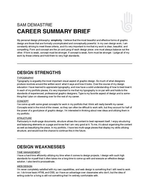 sample summary statement resume misanmartindelosandes com