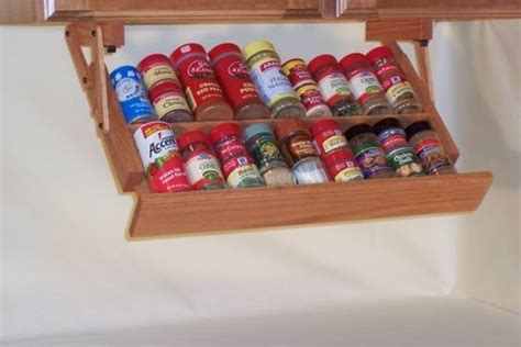 The Counter Spice Rack by 25 Smart Ways To Store Herbs And Spices Jewelpie