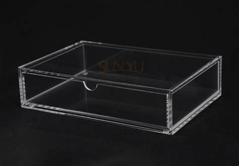 Cheap Acrylic Drawers by Cheap Clear Acrylic Lucite Storage Box With Drawers