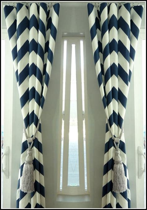 navy white chevron curtains navy blue and white chevron curtains download page home