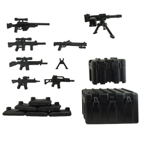 Weapon Lego Accesories custom minifigure army guns weapons compatible