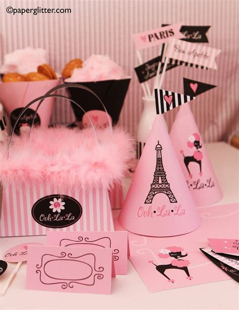 paris themed party kit 50 best theme parties images on pinterest theme parties