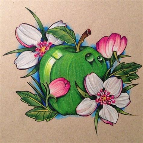 apple blossom tattoo designs 19 best images on apple