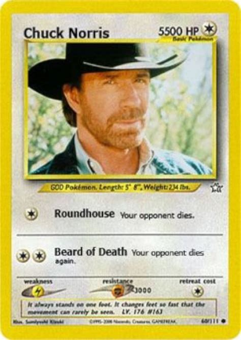 Chuck Norris Pokemon Memes - absolute best collection of chuck norris jokes hubpages
