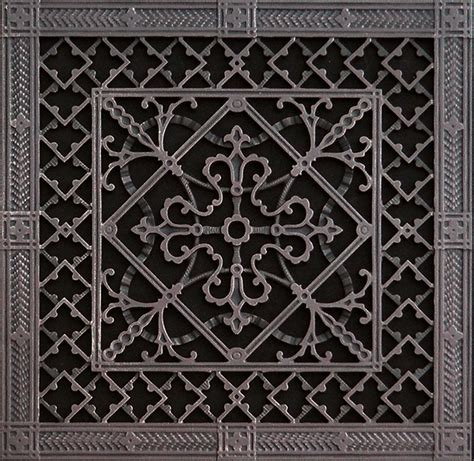 decorative return air grille decorative return air filter grille 14x14 arts and