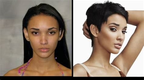 15 best images about before after makeup makeovers on kanani andaluz before and after america s next top