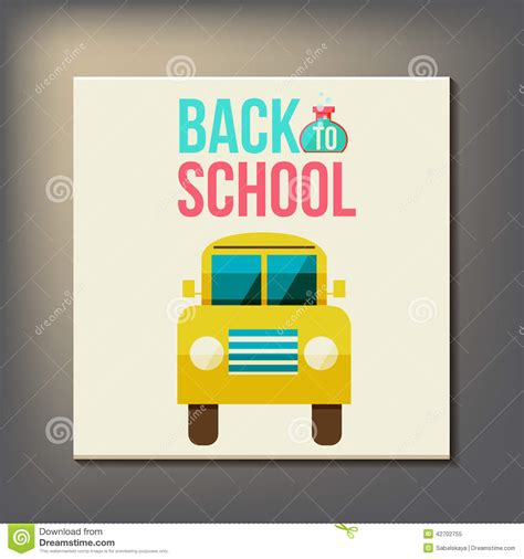 back to school design template back to school design template stock vector image 42702755
