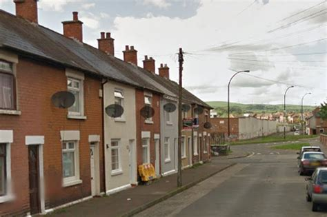 rubber st company belfast two arrested after west belfast house is smashed up
