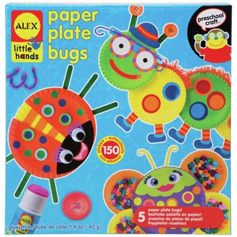 buy alex toys paper plate bugs at argos co uk your