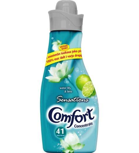 comfort sensations comfort sensations water lily lime 750ml huuhteluaine