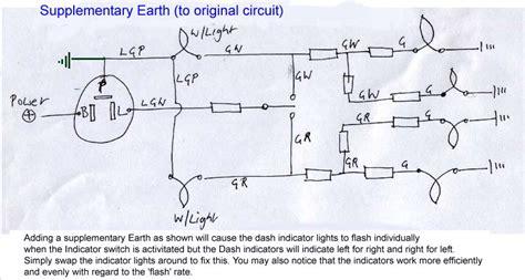 alternating flasher wireing diagram alternating flasher