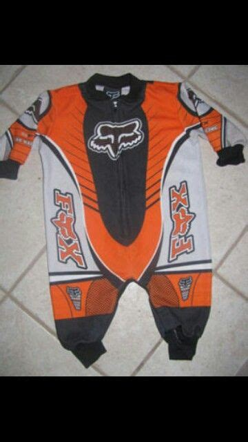 baby motocross fox onesie sooo cute kids pinterest onesie