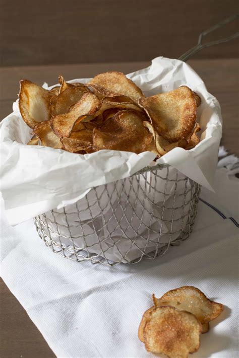 Handmade Chips - best potato chips cake n knife