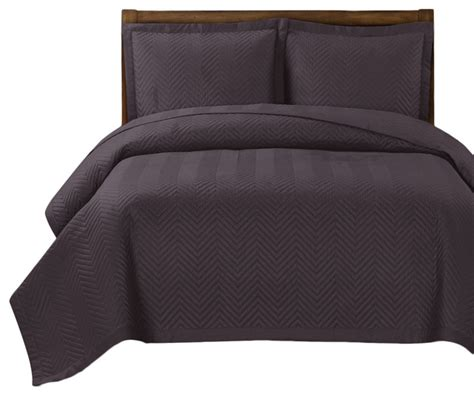 lightweight coverlet chervon reversible lightweight microfiber coverlet set