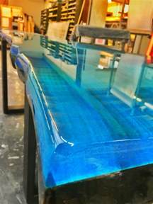 epoxy resin table top epoxy resin blue ccoating new collection line epoxy resin and