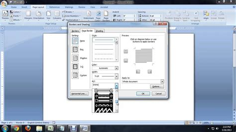 frame design for microsoft word how to create a frame for a page in microsoft word tech