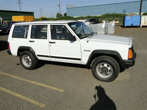 1995 Jeep Se Purchase Used 1995 Jeep Se 4 Door 4wd Suv In