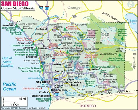 Search San Diego County Buy San Diego County Map