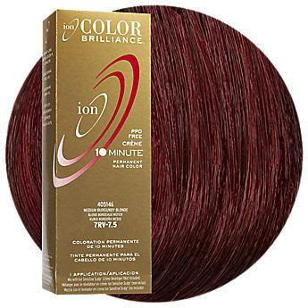 ion hair color burgundy 9g very light gold blonde permanent creme hair color