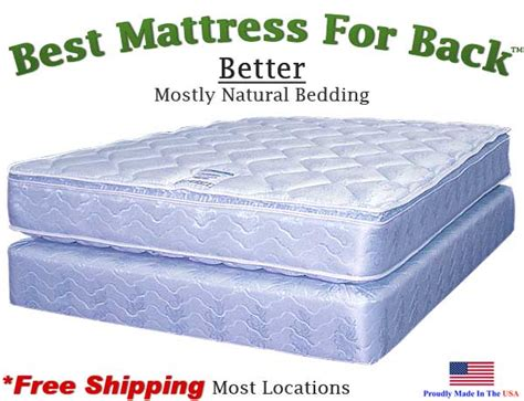 Best Mattress For Back 3 4 Better Best Mattress For Back