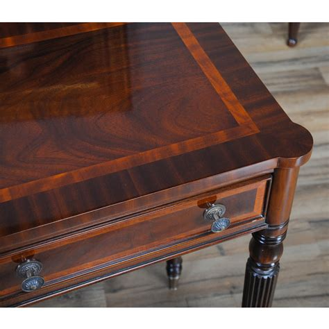console table with two ls sheraton console two drawer console table niagara furniture