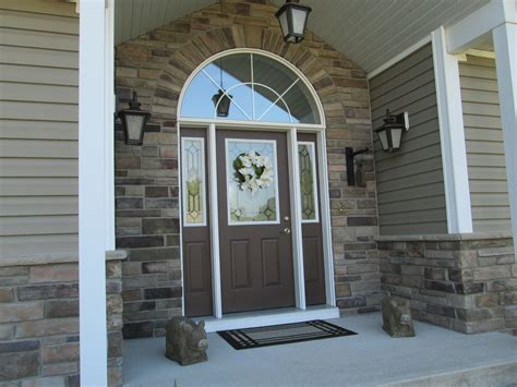 Rick S Front Door by Updating An Aluminum Siding Exterior Using Cultured