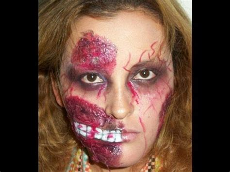 tutorial maquillaje zombie youtube maquillaje de zombie makeup zombie paso a paso youtube
