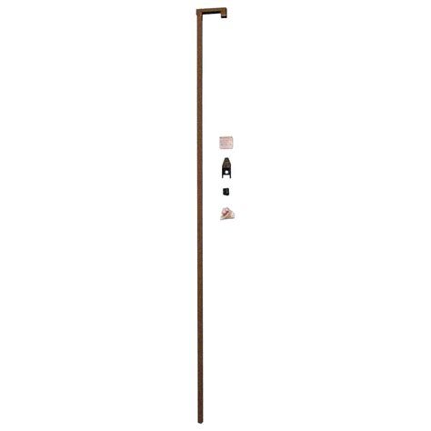 prime line 48 in sliding door security bar lock bronze s