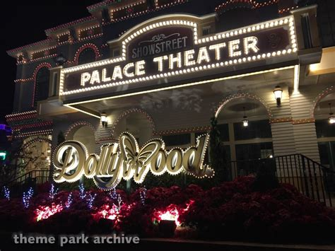 2018 dollywood and beyond a theme park lover s guide to the smoky mountain vacation region books theme park archive palace theater at dollywood