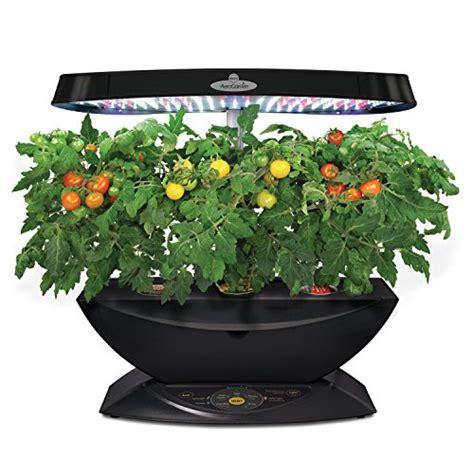 hydroponic herb garden kit aerogarden 7 led indoor garden with gourmet herb seed kit