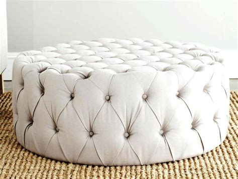 How To Reupholster A Tufted Leather Ottoman The Hammocks How To Reupholster A Tufted Ottoman