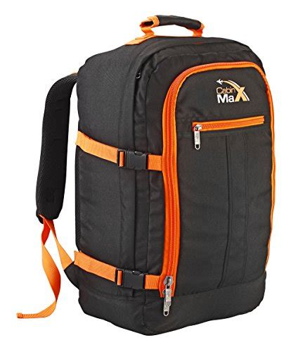 cabin max carry on bag cabin max backpack flight approved carry on bag 44