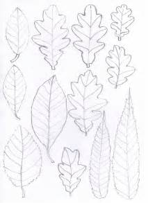 Paper Leaf Template by Bugs And Fishes By Lupin How To Oak Leaf Yarn Wreath