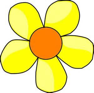yellow flower clip art clker vector clip art royalty free amp public domain