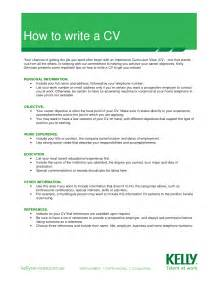 How To Write A Resume For A Job Example Let S Share How To Write A Cv Curriculum Vitae A