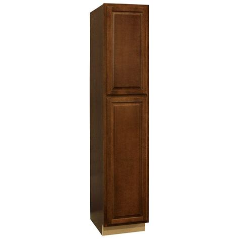 kitchen utility cabinet hton bay hton assembled 18 x 90 x 24 in pantry