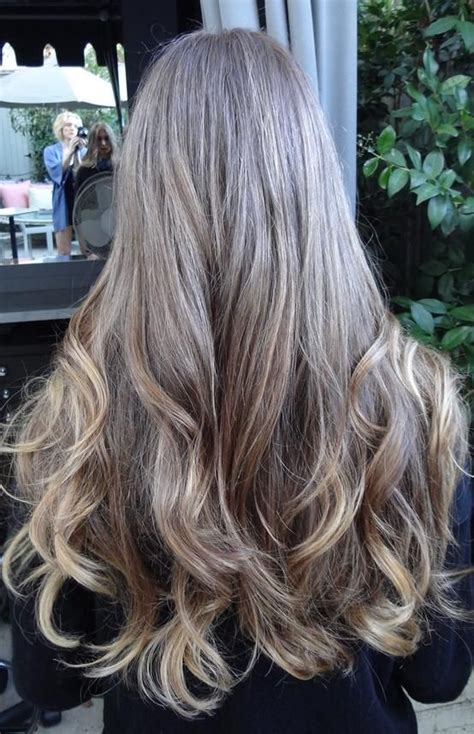 gray hair highlight ideas medium brown with golden highlights hairstyles for long
