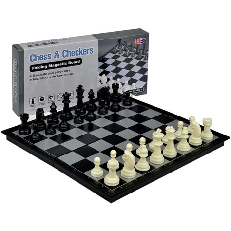 magnetic chess 2 in 1 travel magnetic chess and checkers board games
