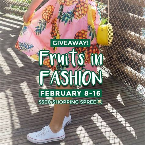 Fashion Giveaway - del monte fruits in fashion giveaway win a 300 gift card