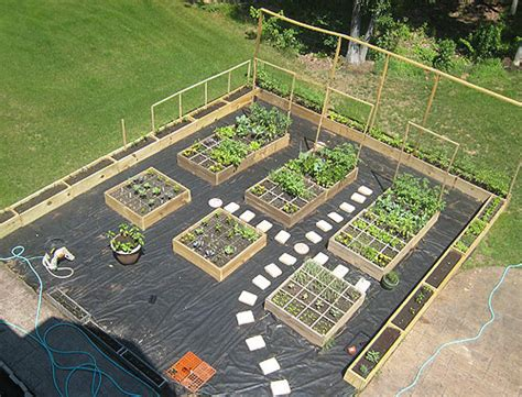 How To Layout A Garden Vegetable Garden Layout Plans Home Design Ideas