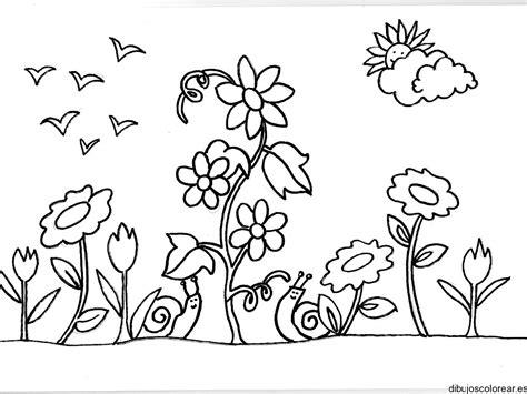 imagenes para colorear jardin de infantes dibujo de dos caracoles en el jard 237 n