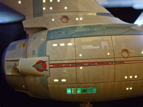 starship enterprise model with lights trek ships by pjt models polar lights refit